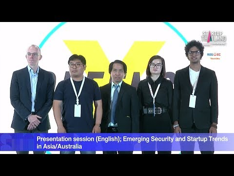 Presentation session (English); Emerging Security and Startu