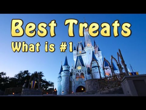 Rix Top 6 Treats at Walt Disney World's Magic Kingdom | Favorite Disney Snacks and Treats