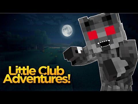 Minecraft Little club Adventures - SHARKY IS A WAREWOLF!!!