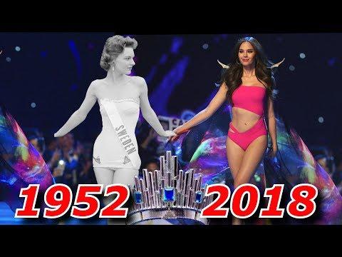 Конкурс красоты Мисс Вселенная все победительницы 1952-2018
