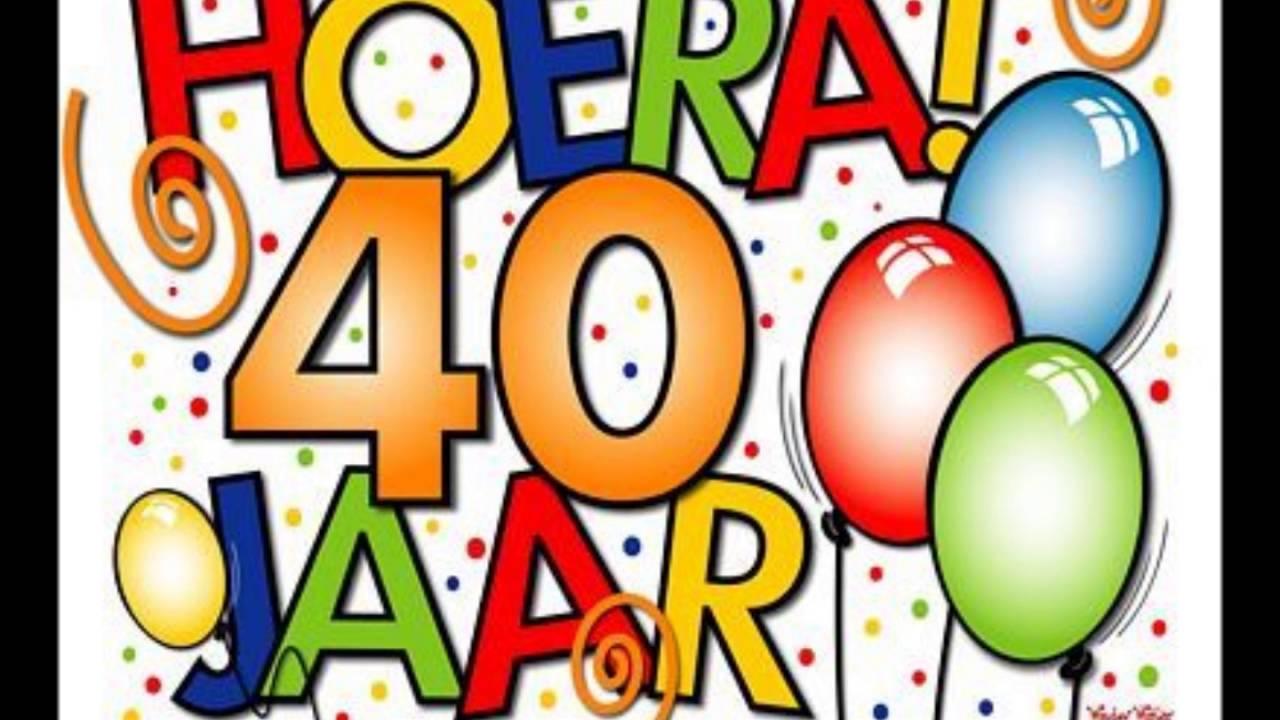 jubilaris 40 jaar Jubileum Gerda 40 jaar   YouTube jubilaris 40 jaar