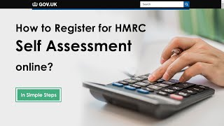 How to Register for HMRC Self Assessment online for the year 2018-19?