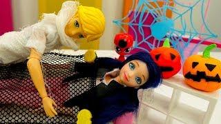 Маринетт украшает дом к Хэллоуину - Видео для девочек