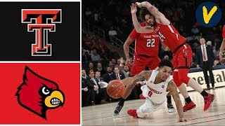 2019 College Basketball Texas Tech vs #1 Louisville Highlights