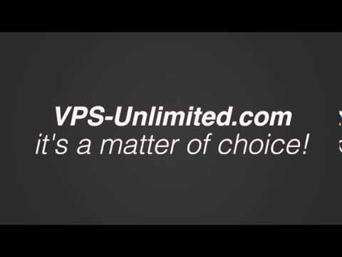 VPS-Unlimited.com - It's a matter of choice!