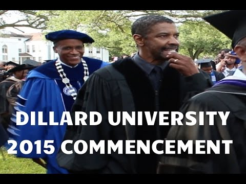 Denzel Washington - 2015 Dillard University Commencement Speech