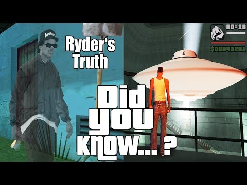 GTA San Andreas Secrets and Facts 10