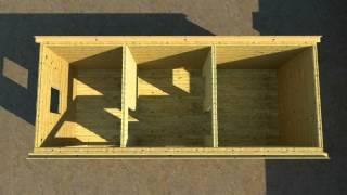 Перевозная баня      (производство и доставка)(http://stroimsami2.ru/banya/gotovye-bani-iz-brusa.html Видео о перевозной брусовой бане., 2014-03-01T22:49:24.000Z)