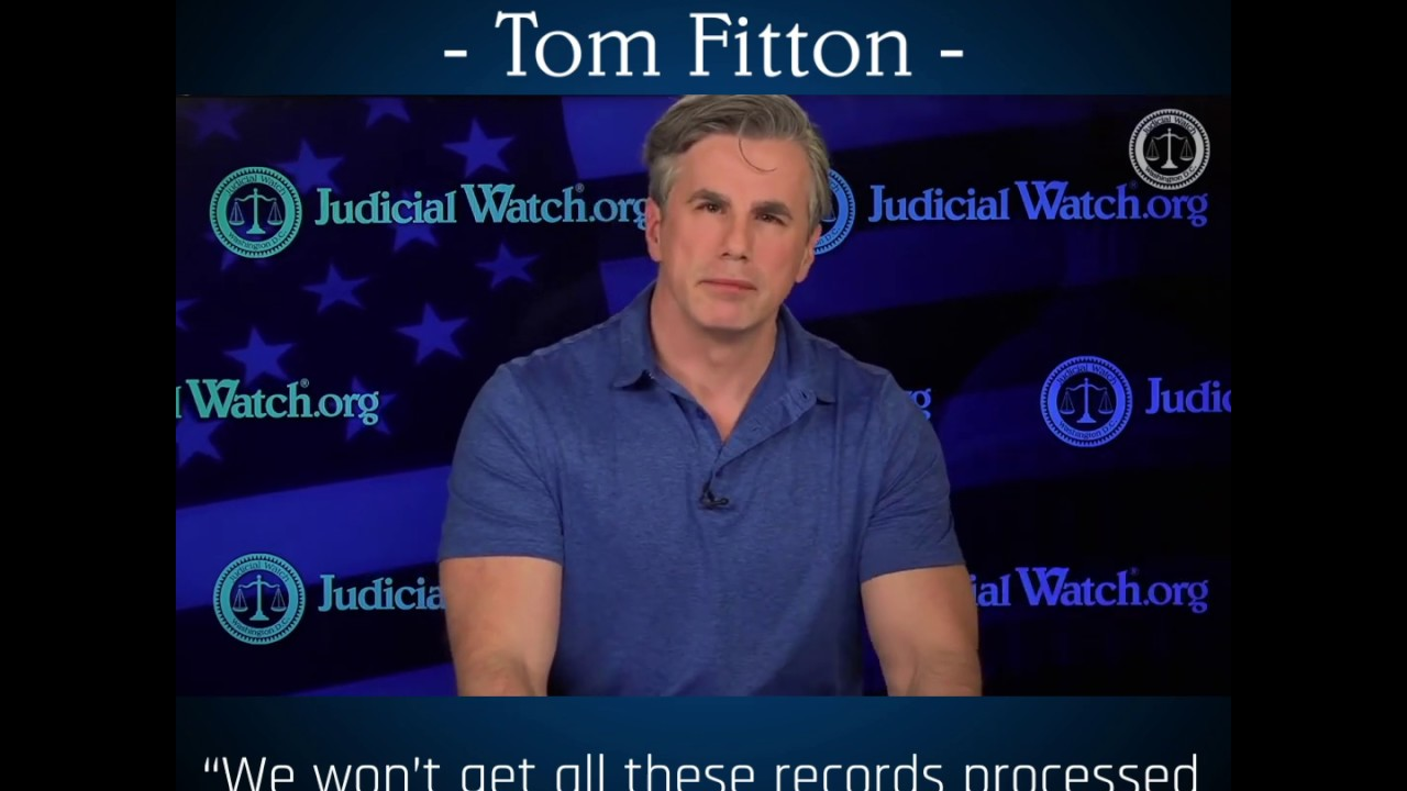 Tom Fitton: FBI are Protecting Page & Strzok over Clinton Email Probe!