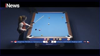 Billiard (INA) Angeline/Silviana vs (MAS) Chezka/Rubilen - SEA Games 2019