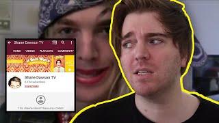 Shane Dawson Deletes Youtube Channel...