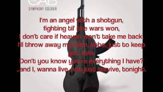 Angel With A Shotgun The Cab Lyric Video