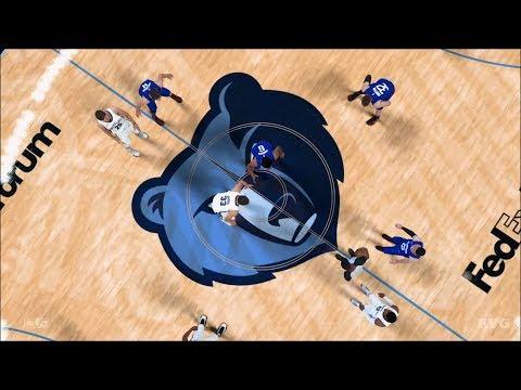 NBA 2K18 - Memphis Grizzlies vs Los Angeles Clippers - Gameplay (PS4 HD) [1080p60FPS]