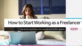 How to start working as a freelancer