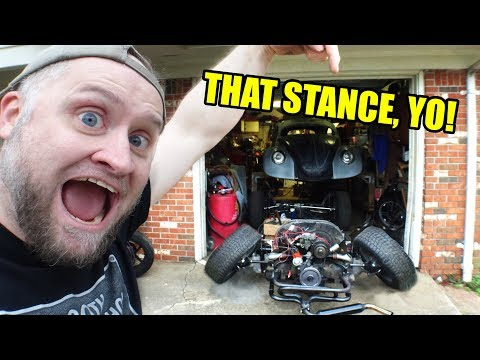 Repeat VW Camber Adjustment and Measurements - ROTTEN OLD