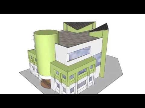 3D Administration building Design