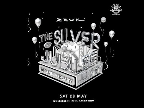 Zouk 25th Anniversary The Silver Jubilee 28 May 2016 Youtube