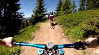 How to ruin your holiday - falling off a mountain bike in the Alps and breaking some ribs