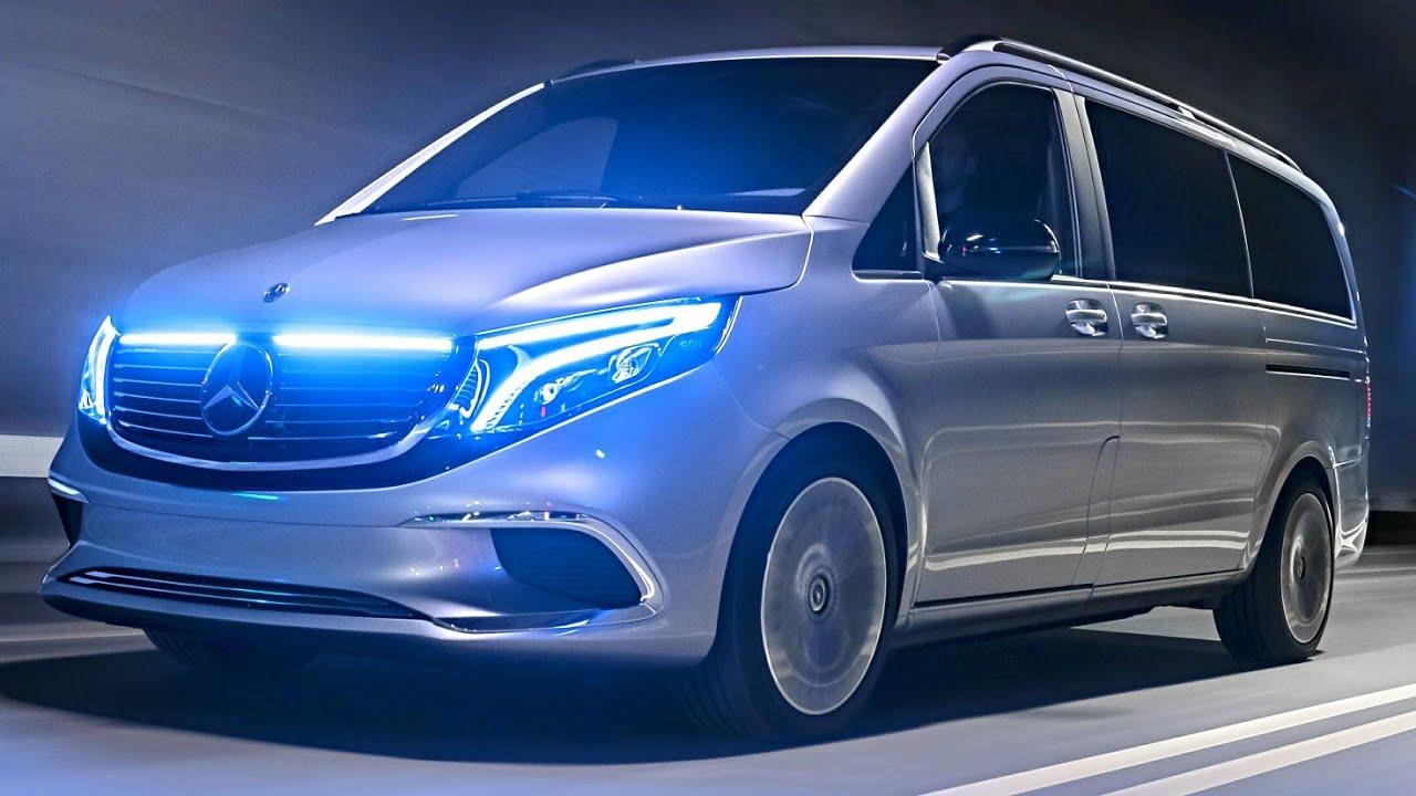 2020 Mercedes Benz Eqv Concept Youtube