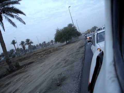 Christmas Day, Route Irish, Baghdad Iraq, (25 dec 2005)