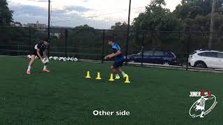 SPEED & AGILITY with resistance using SKLZ recoil 360 - Joner 1on1