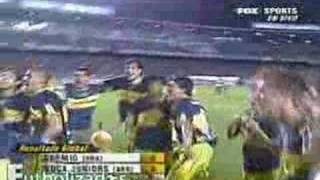 BOCA CAMPEON COPA LIBERTADORES 2007 - Boca 2-Gremio 0 goles