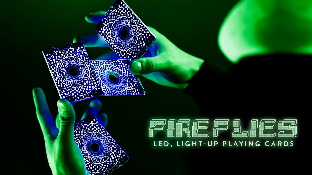 Fireflies: LED, Light-up Playing Cards - LIVE ON KICKSTARTER