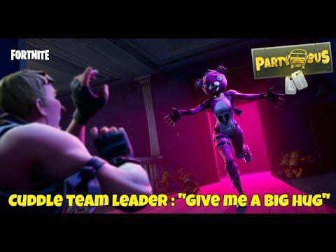 Fortnite battle royale cuddle team leader give me a big hug youtube - Cuddle team leader from fortnite ...