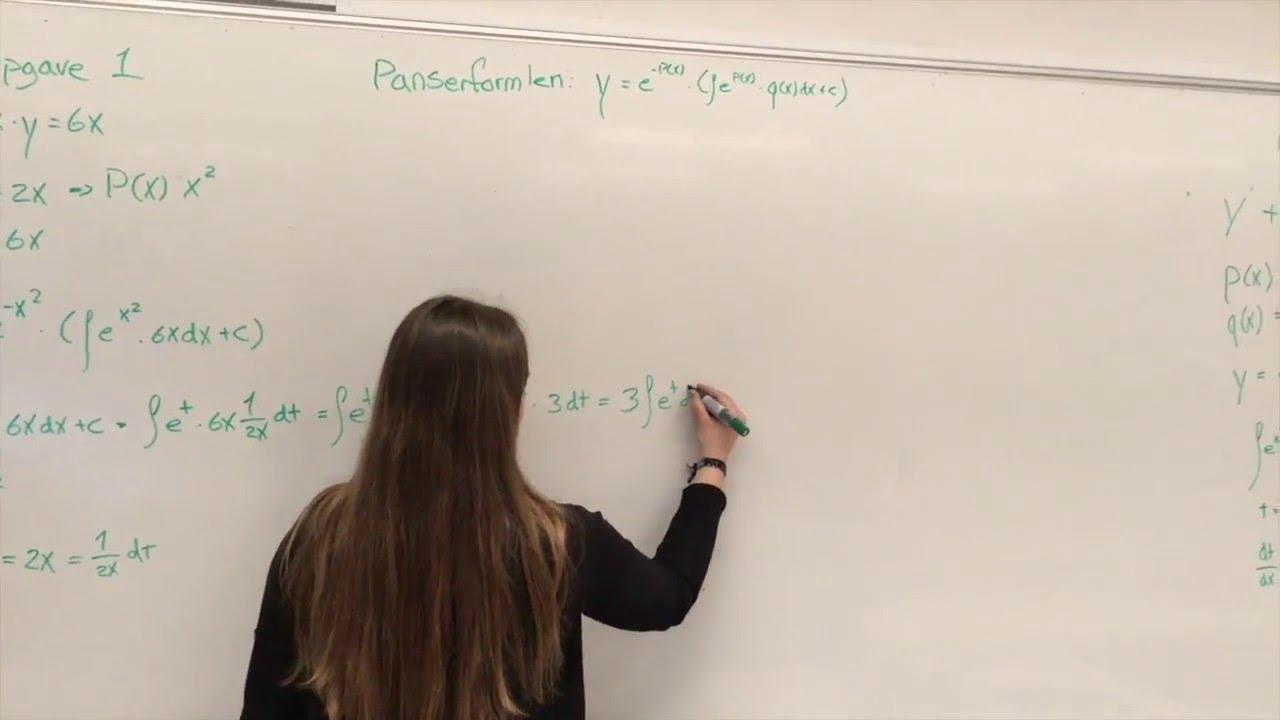 Lineære differentialligninger (Gruppe 4)