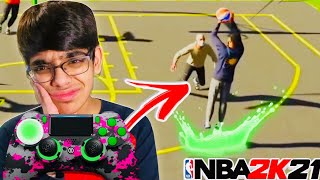 Ronnie2k Son Gets EXPOSED For Using MODDED CONTROLLER ON NEXT GEN NBA 2K21...