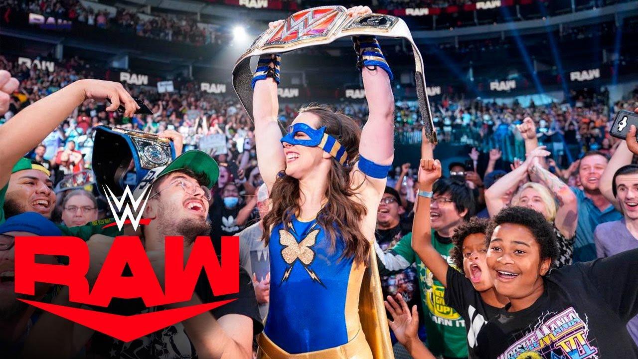 NIKKI CROSS NUEVA CAMPEONA DE RAW| RAW 19 de Julio 2021 RESULTADOS #RAW