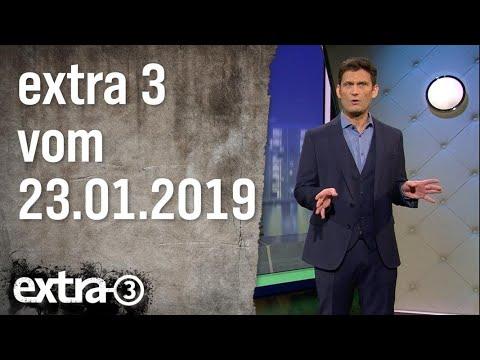 Extra 3 vom 23.01.2019  | extra 3 | NDR