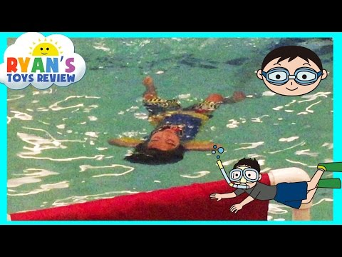 Thumbnail: Going Swimming and Eggs Surprise Opening Silly Putty Slime Paw Patrol Toys Ryan ToysReview