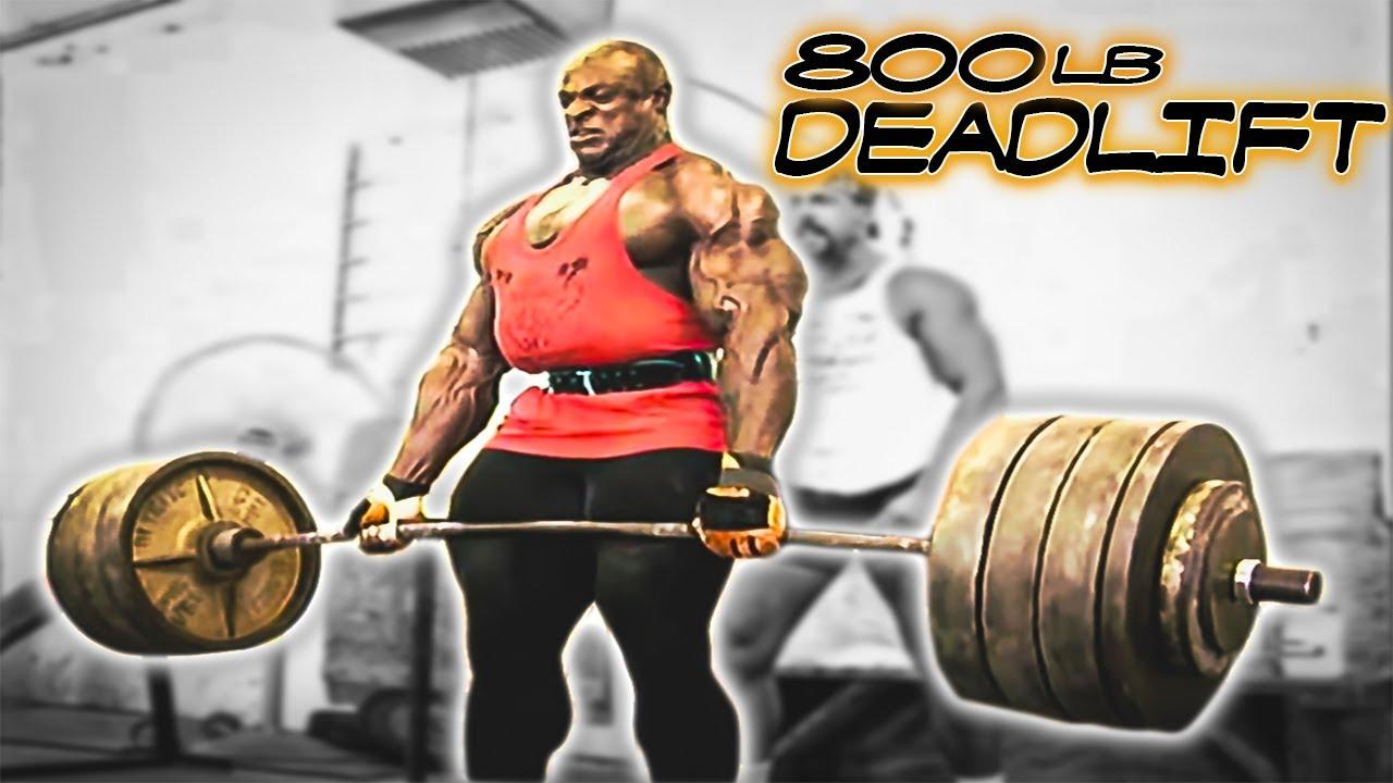Ronnie Coleman 800lb Dead Lift Hd Doovi