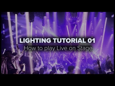 Zyper Lighting Tutorial 01 - How i play live with lights
