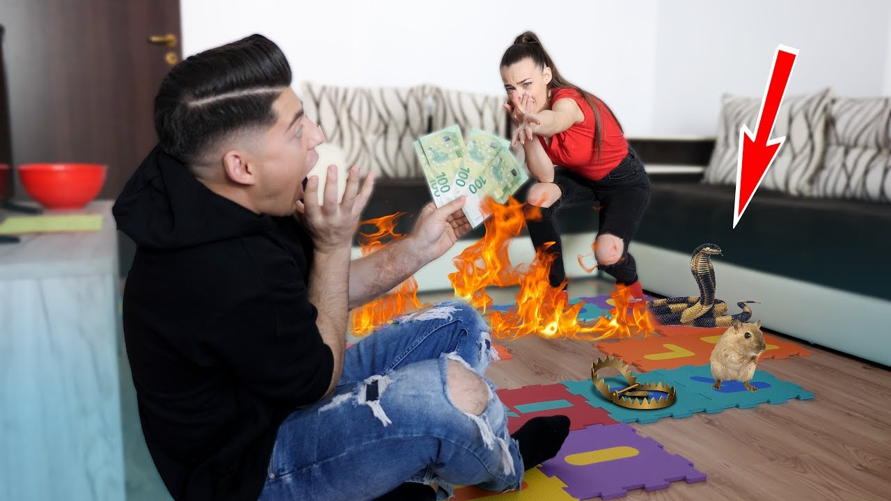 Jucăm cel mai mare joc din apartament! (Este periculos?!?)