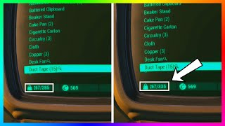Fallout 4 - Easy +50 Carry Weight Tip, Unlimited Adhesive Supply & Fast Hacking Terminals! (FO4)