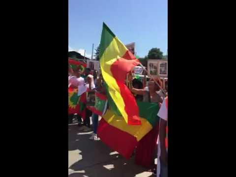 Switzerland: Protest against Human Rights violation in Ethiopia