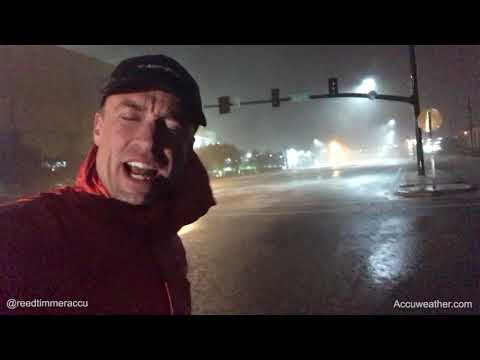 Hurricane Nate: Storm surge, winds gusting over 75 mph from Biloxi, MS