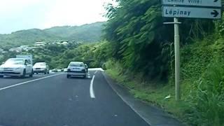 Promenade sur les routes de Martinique