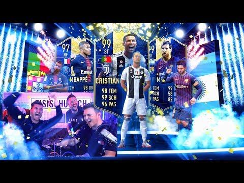 FIFA 19: TOTY PACK OPENING ESKALATION mit NOHANDGAMING !! thumbnail