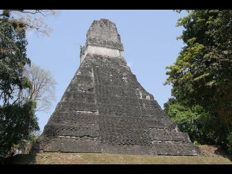 Tikal, Guatemala. Day and Night. Mayan Ruins and Wild Animals.