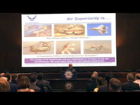 Mitchell Forum Hour: Multi Domain Air Superioirty 4 26 2016