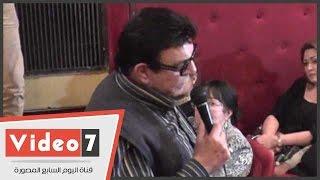 بالفيديو.. سمير صبرى يروى تفاصيل الأيام الأخيرة فى حياة نور الشريف