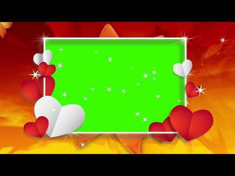 Love Green screen Video effects hd wedding thumbnail