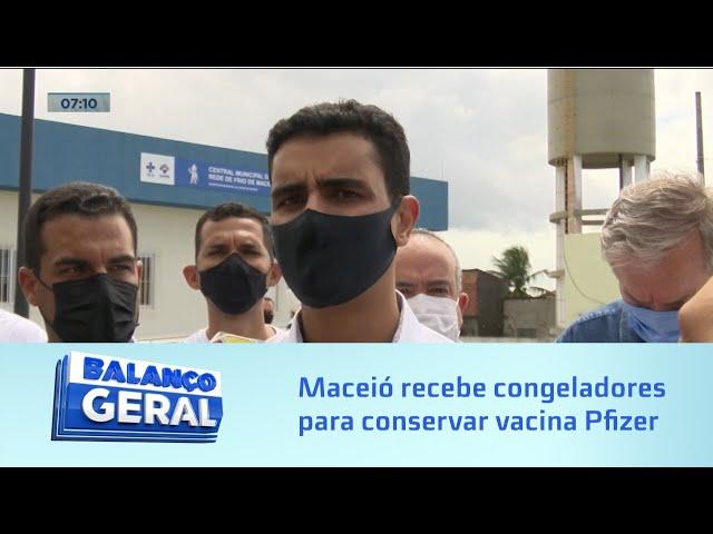 Vacinação: Congeladores especiais vão garantir conservação das doses da vacina Pfizer