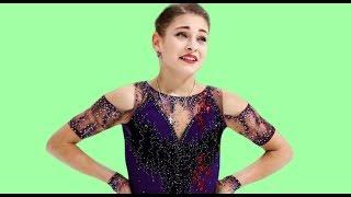 Алёна Косторная показала на шоу любимую многими болельщиками программу Но она упала и едва не распл