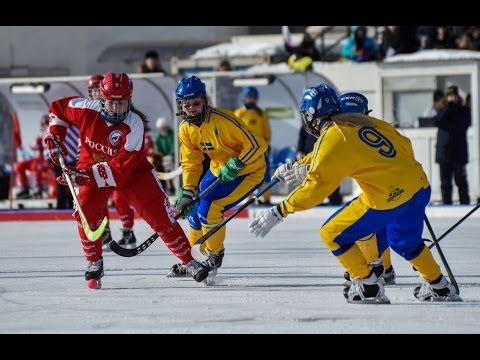 Sweden — Norway, 23.02.17, Girls bandy world championship U-17, Irkutsk, Russia