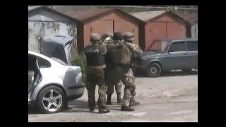 Задержание преступной группировки