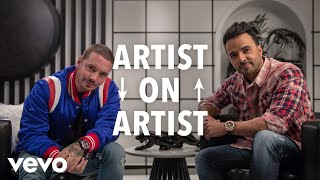 Luis Fonsi, J Balvin - Artist on Artist: Luis Fonsi Sits Down With J Balvin (Part 1)